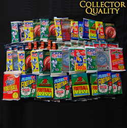 1000 Unsearched Football Cards  Model# 1000UNFB