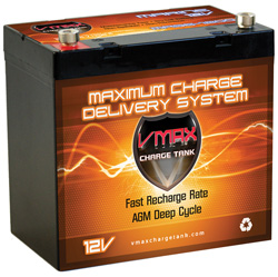 VMAX Marine AGM Battery  Model# MR96-1200