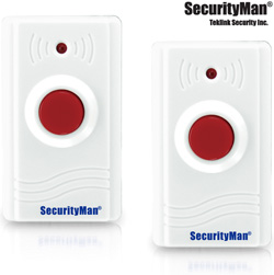 2pk Wireless Panic Buttons  Model# SM-89-2PK