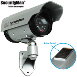 Solar Powered Indoor/Outdoor Dummy Camera  Model# SM-3803