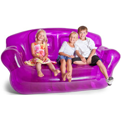 Bubble Inflatables Couch  Model# 24002-BK