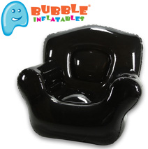 Bubble Inflatables Chair  Model# 24001-BK