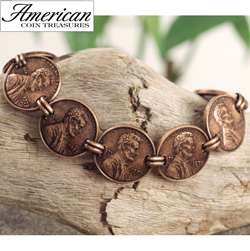 Copper Penny Bracelet  Model# 2301