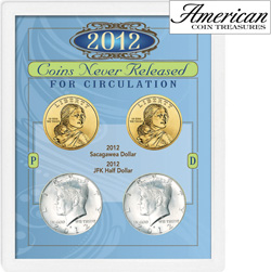 2012 Coins Never Released for Circulation  Model# 11311