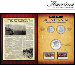 New York Times Bicentennial Coin Collection  Model# 50026