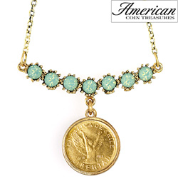 Angel Coin Swag Necklace  Model# 11336