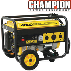 3500/4000 Watt Generator with Wheel Kit  Model# B46517