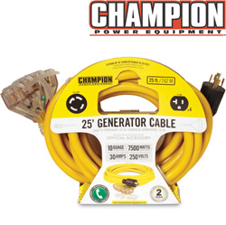 25ft Generator Cord 240V&nbsp;&nbsp;Model#&nbsp;48036
