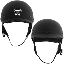 Half Helmet Flat-Small  Model# SH-HHFL64