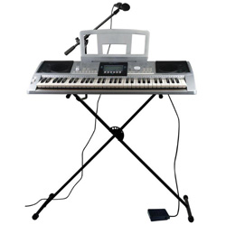 61 Note Electric Keyboard with Stand  Model# AIL 599