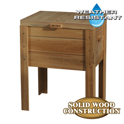 68Qt Natural Deck Box  Model# Deck 103