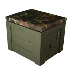 27 Qt. Mini Camo Cooler  Model# Deck 101 _ C