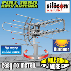 HDTV Remote Controlled Rotating Antenna  Model# SNA-950TG