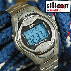 Silicon Scientific Digital Atomic Watch  Model# BA-RCW95M