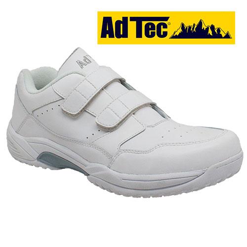 AdTec White Slip-Resistant Shoes