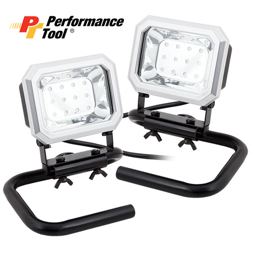 2-pack Portable LED Worklights
