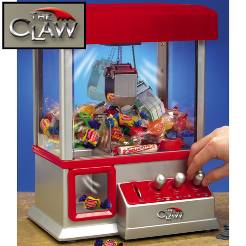 arcade machine claw