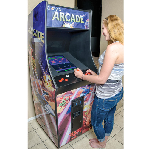 'Upright Classic Arcade Game'
