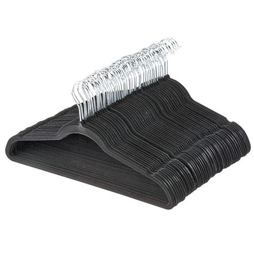 100 Pack Velvet Hangers