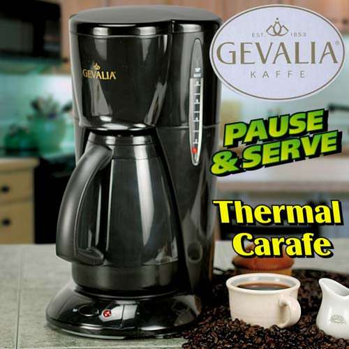 Free Gevalia Coffee Maker And Carafe : Heartland America: Product no longer available