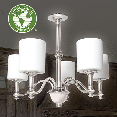 'Good Earth 5-Light Chandelier'
