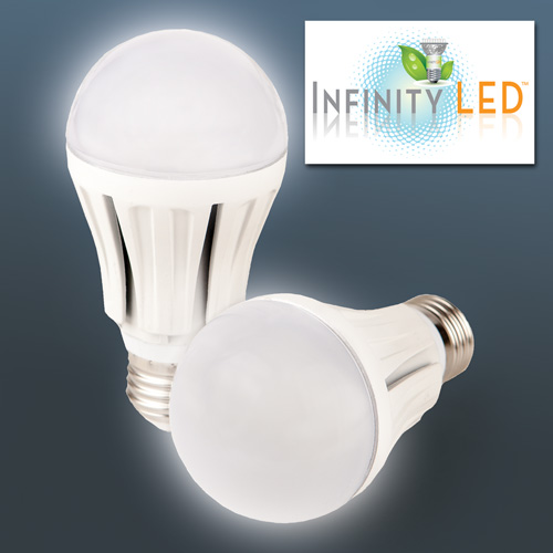 'Dimmable 108 LED Warm Light Bulbs - 2 Pack'
