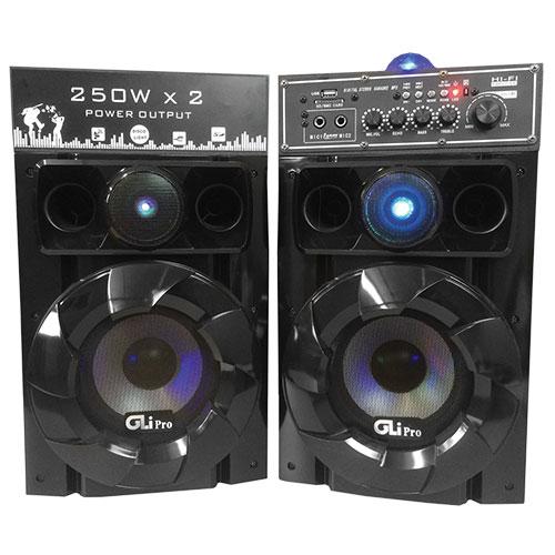 'Dual Powered Speakers'