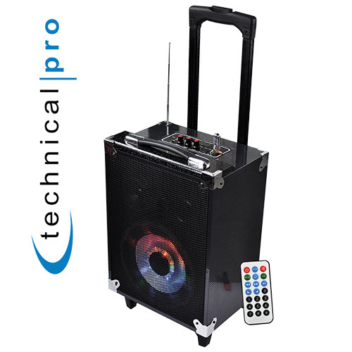 '8in Bluetooth Portable Speaker System'