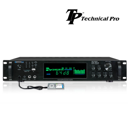 'Technical Pro 2500W Digital Amplifier With AM And FM'