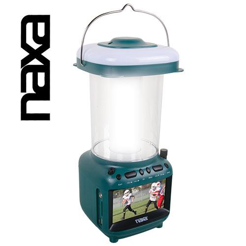 Naxa Utility Lantern with TV
