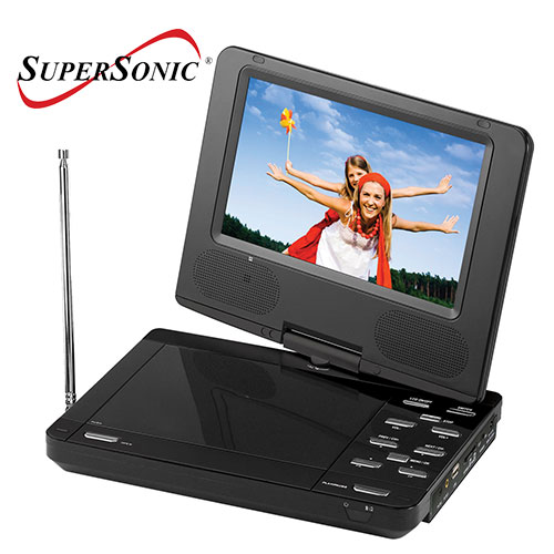 'SuperSonic Portable DVD Player'