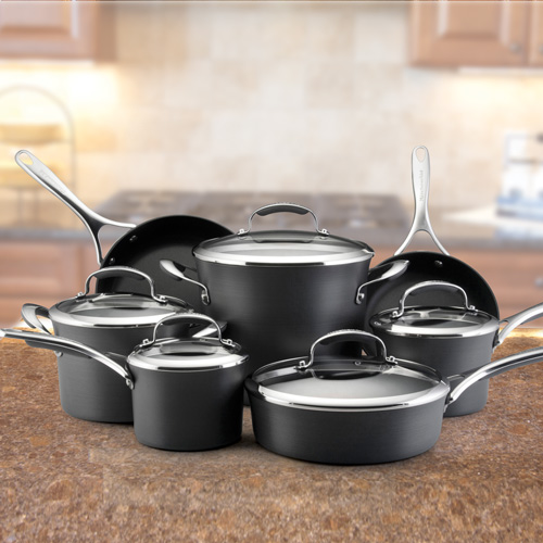 'Kitchen Aid 12-Piece Cookware Set'
