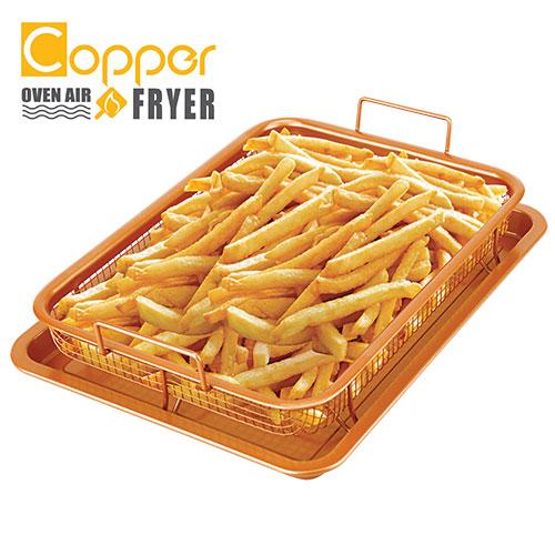 Copper Oven Air Fryer Pan