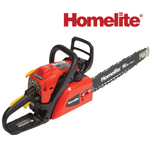 'Homelite 16 inch Gas Chain Saw'