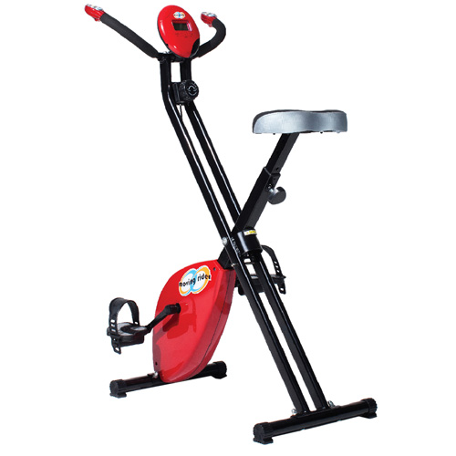 'Moving Rider Exercise Bike - Red'