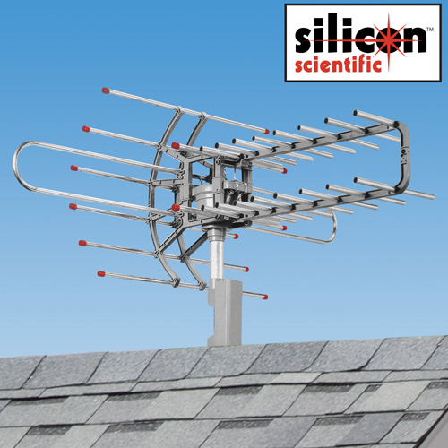 HDTV Remote Controlled Rotating Antenna