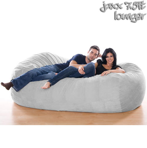 '7.5FT VELISH BEANBAG-GRAY'