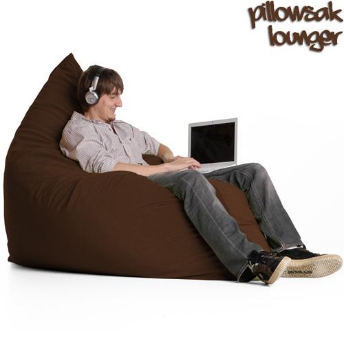 'Jaxx Pillow Sac - Chocolate'
