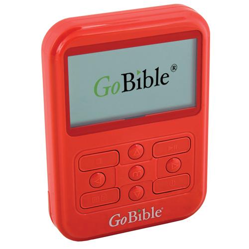 'Go-Bible Original KJV - Red'