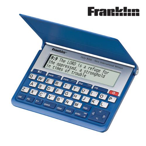 'Franklin NIV Electronic Bible'