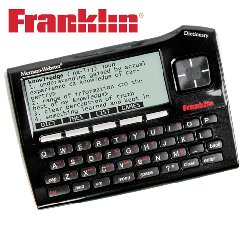 'Franklin Dictionary/Thesaurus'