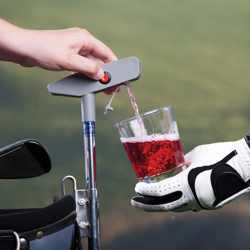 'Putter Drink Caddy'