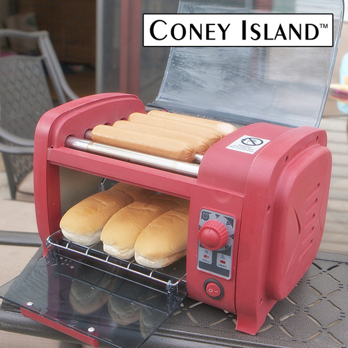 'Hot Dog Roller and Toaster'