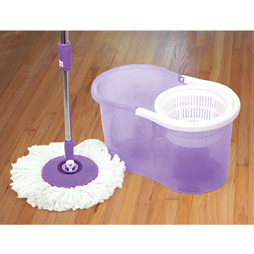 Viatek Ydmm-011 Spin Mop with Press Handle