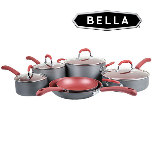 Bella 10 Piece Cookware Set