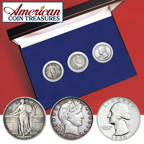 Complete Silver Quarters 20th Century