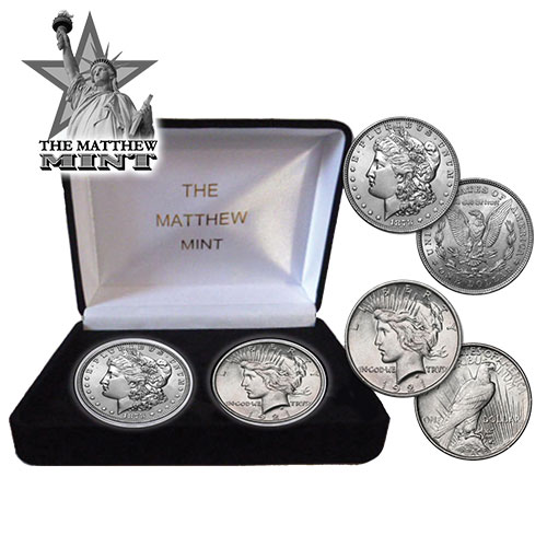 'Morgan/Peace Coin Set'