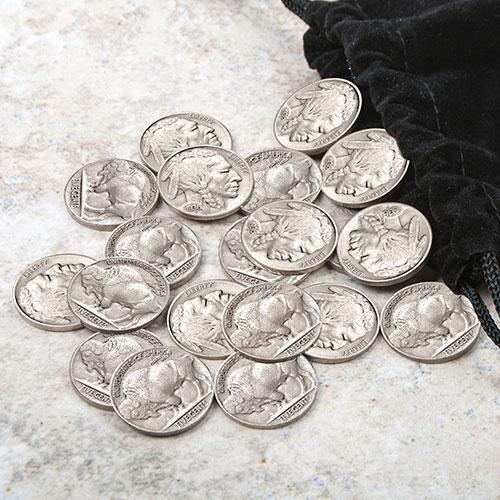 Bag of 20 Buffalo Nickels