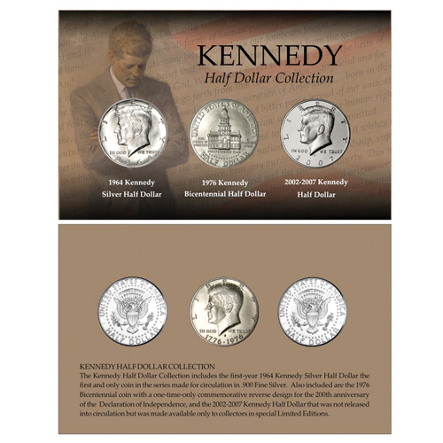 'Kennedy Half Dollar Collection'