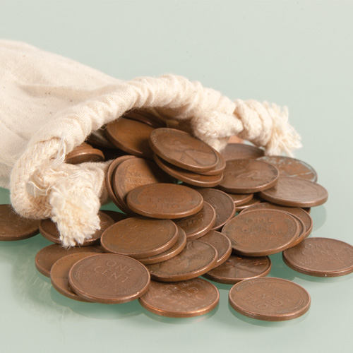 'Pound of Wheat Pennies'
